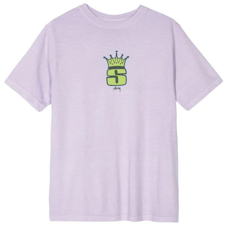 S Crown Pig. Dyed Tee 'Lavender'