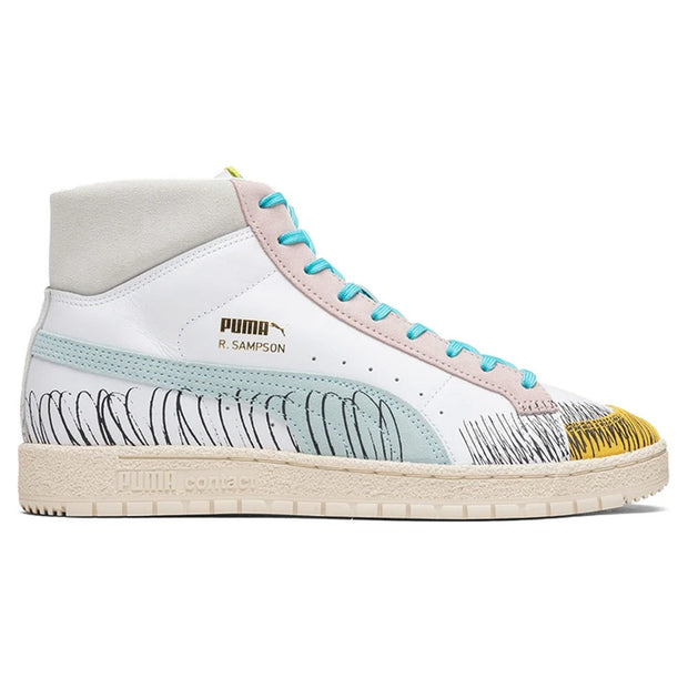 Ralph Sampson 70 Mid Michael Lau 'Puma White - Blue Glow'