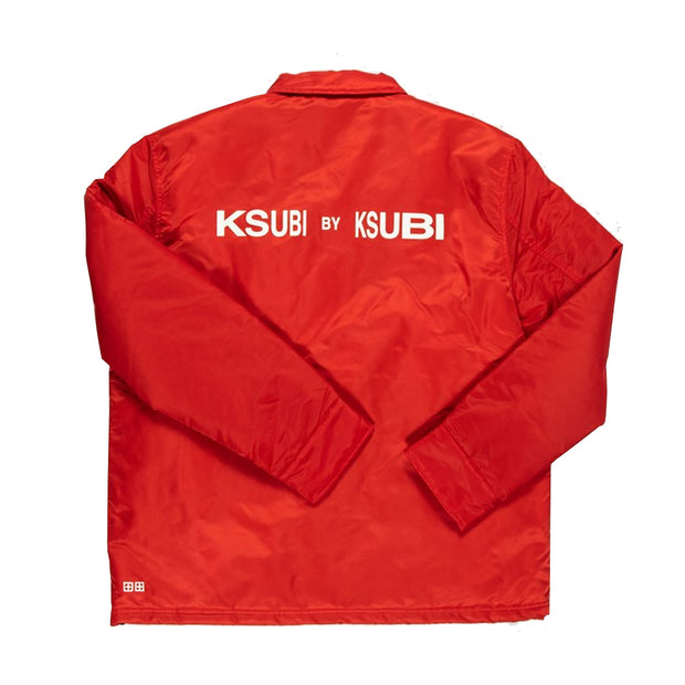 Ksubi By Ksubi Coach Jacket Nitro 'Red'