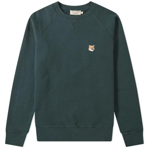 Sweatshirt Fox Head Patch