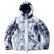 Mountain Range Down Jacket III 'Tie Dye'