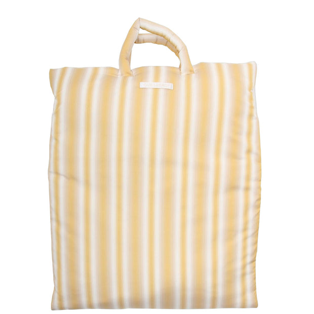 Pillow Tote 'Padded Gradient Yellow'