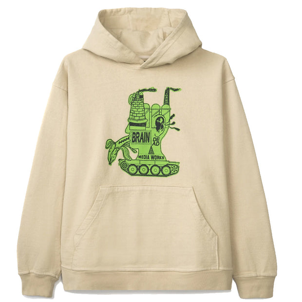 Media Works Hoodie 'Natural'