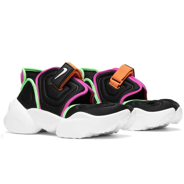 Women's Aqua Rift 'Black / White-Fire Pink-Green Strike'