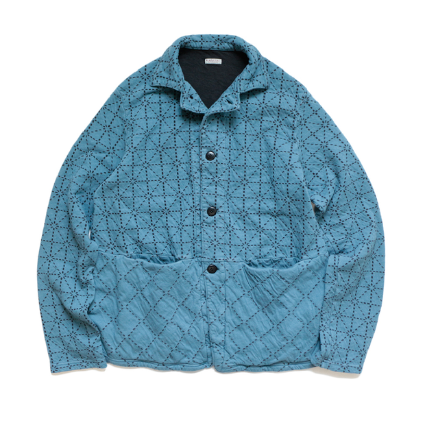 DO-GI Sashiko Jersey Coverall