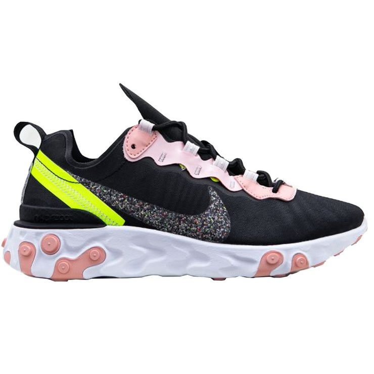 Women's React Element 55 Premium 'Volt-Coral Stardust'