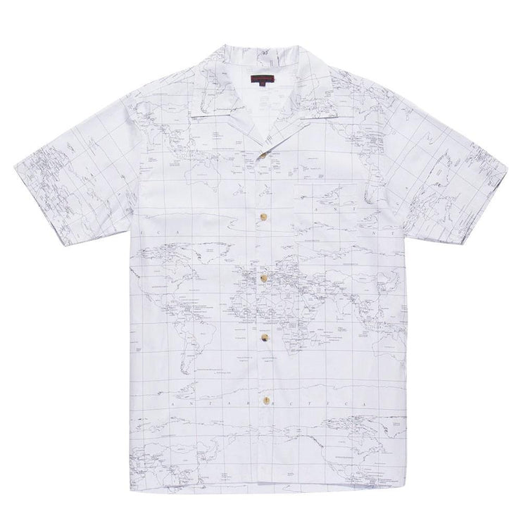 Global Haze SS Shirt 'White'
