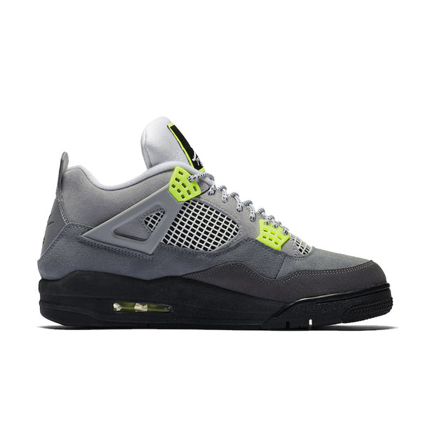 Air Jordan 4 Retro SE (GS) 'Neon'