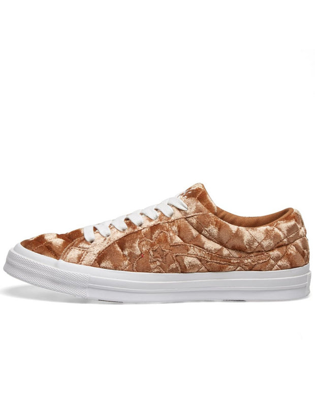 One Star Ox Golf Le Fleur TTC Quilted Velvet 'Brown Sugar'