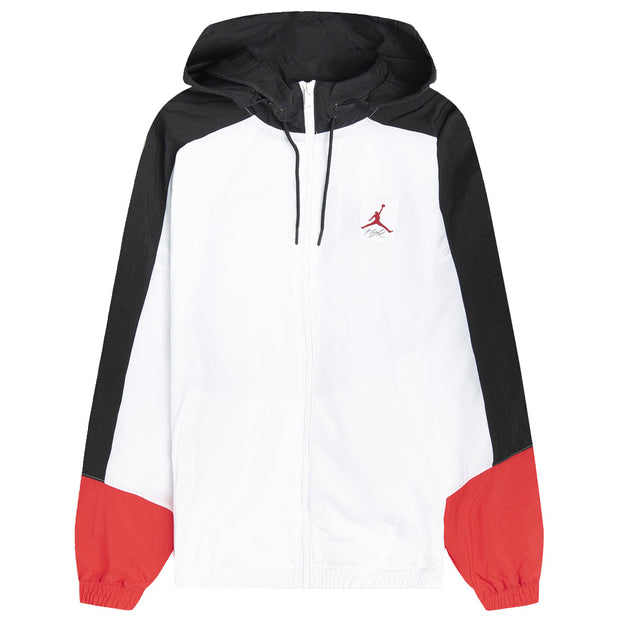 AJ4 Lightweight Jacket 'White / Black / University Red'