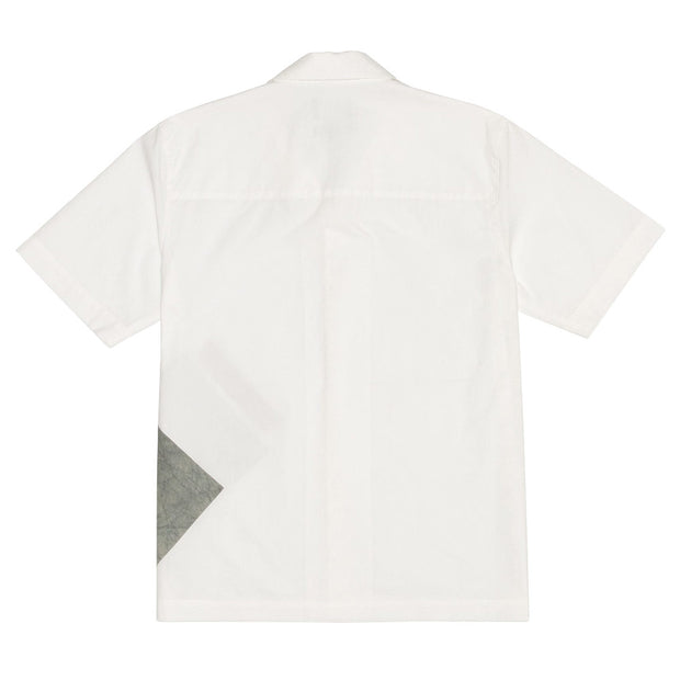 Dyed Patch Shirt 'White'
