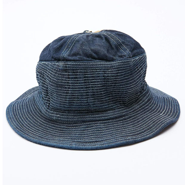 12oz Denim THE OLD MAN AND THE SEA Hat 'Dark'