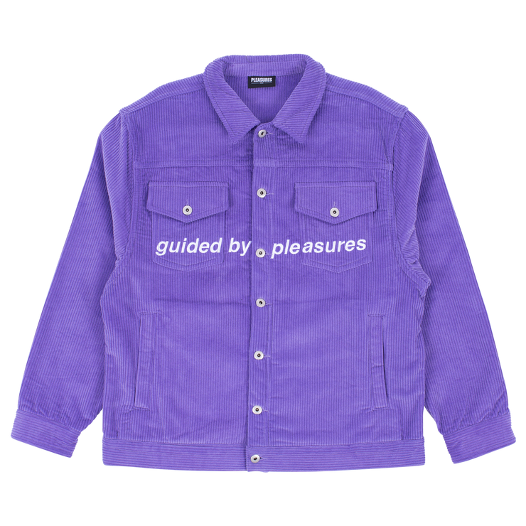 Guided Corduroy Trucker Jacket