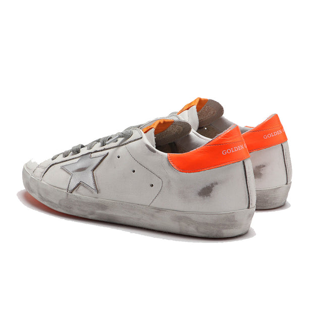 Sneakers Superstar 'White / Orange / Silver Star'