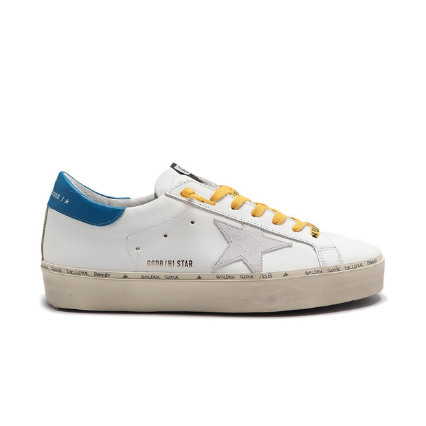 Sneakers Hi Star 'White & Blue Leather'