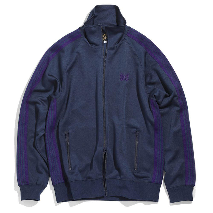 Track Jacket Poly Smooth 'Navy'