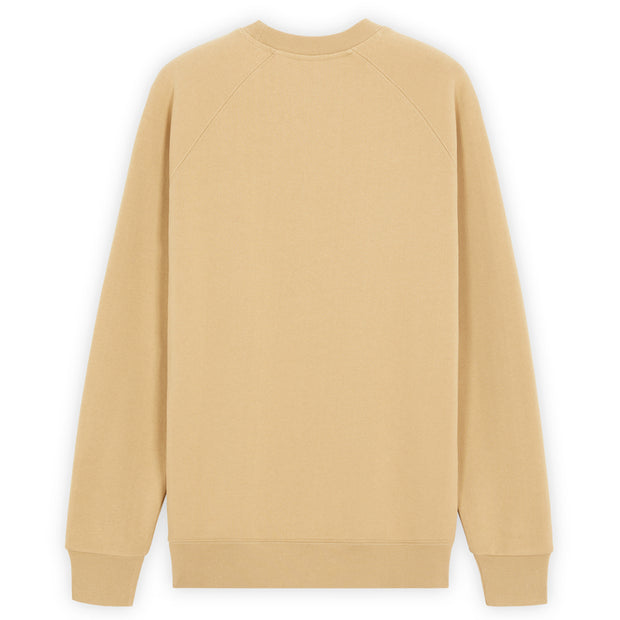Fox Head Patch Classic Sweatshirt 'Beige'
