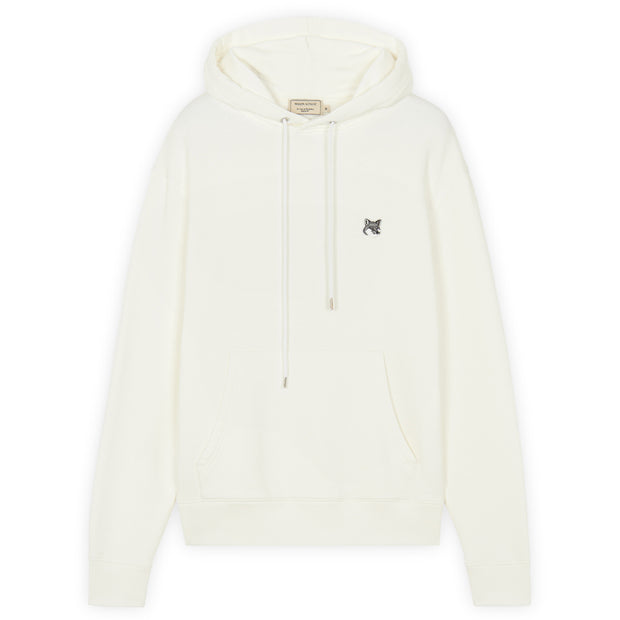 Grey Fox Head Patch Classic Hoodie 'Ecru'