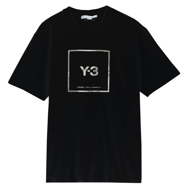 Y-3 Square Label Graphic S/S Tee 'Black'