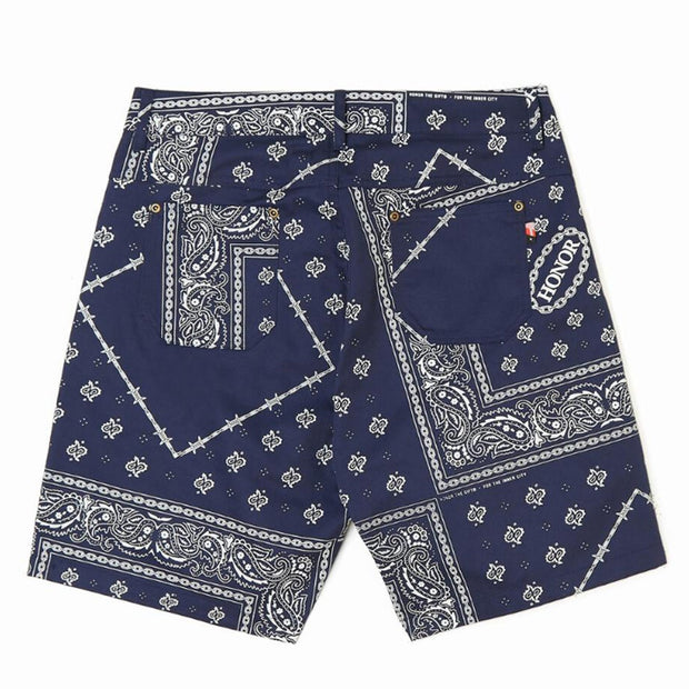 Bandana Shorts 'Navy'