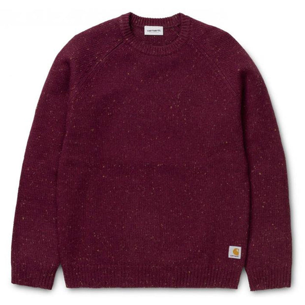 Anglistic Sweater 'Merlot Heather'