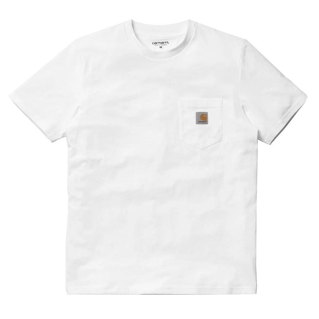 S/S Pocket T-shirt 'White'