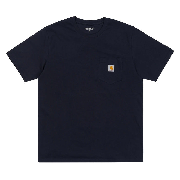 S/S Pocket T-shirt 'Dark Navy'