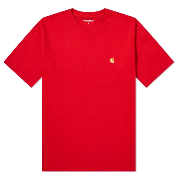 S/S Chase T-shirt 'Etna Red'