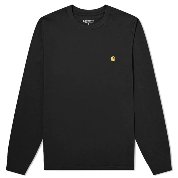 L/s Chase T-shirt 'Black / Gold'