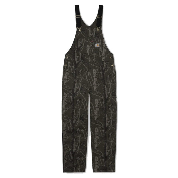 Bib Overall Rinsed 'Green Tree Camo Aged Canvas'