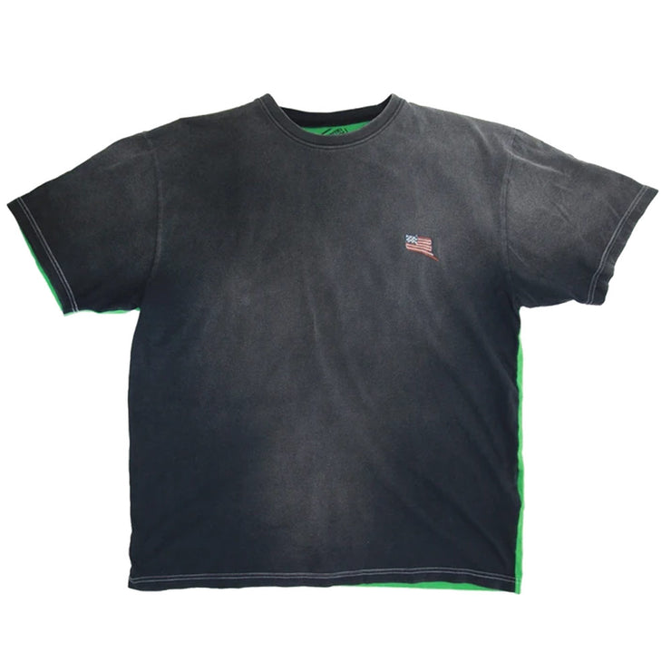 Kountry 2 Tones Big Tee 'Black / Green'