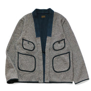 BEACH Knit KAKASHI Cardigan 'Charcoal'