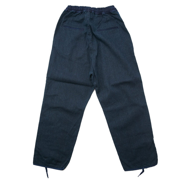 IDG DO-GI Canvas EASY Pants (BONE) 'Indigo'