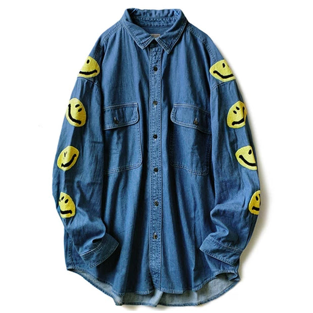 8oz Denim GRANDE Work Shirt (SMILE)