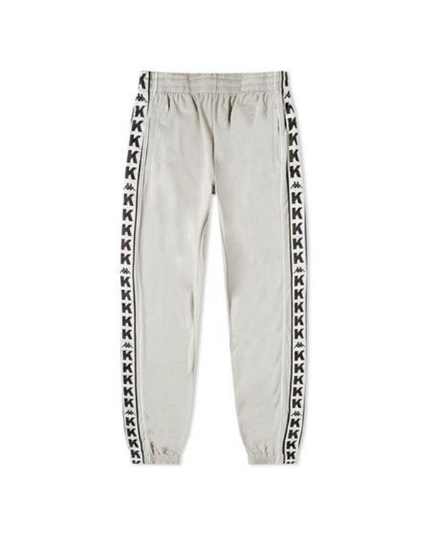 Taped Logo Track Pant Silver Grey