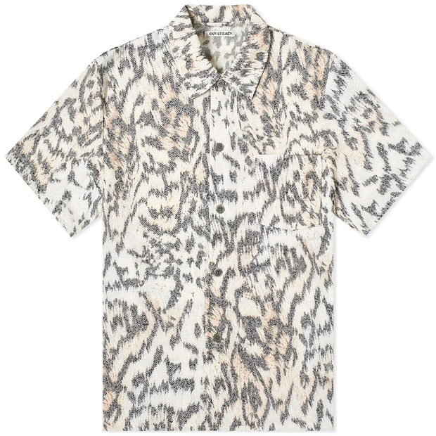 Box Shirt S/S 'Tiger Print'