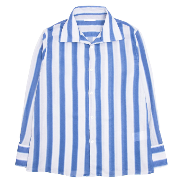 Soul Shirt 'Blue Blur Stripe'