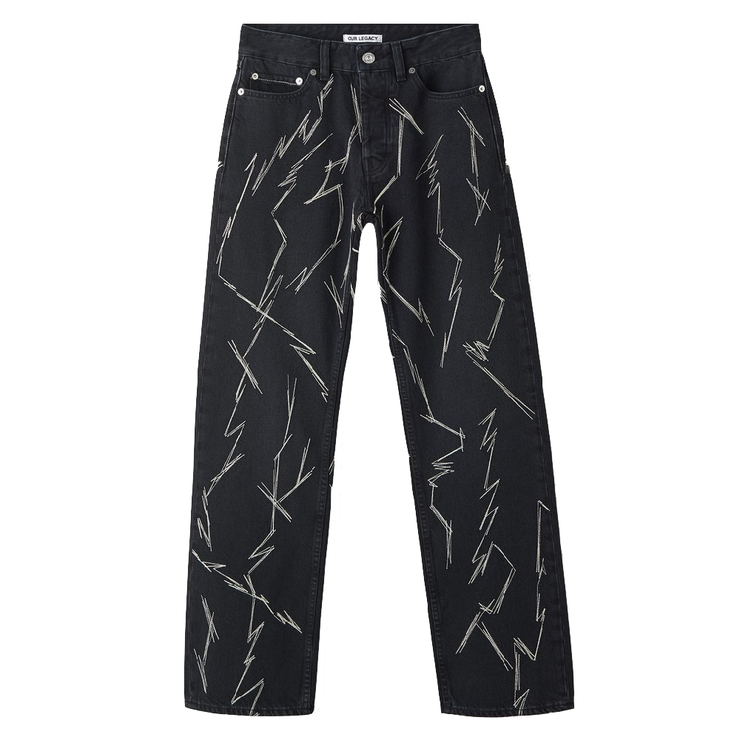 Second Cut Pants 'Zig Zag'