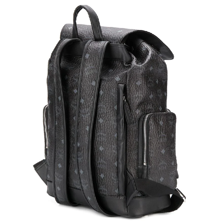 Brandenburg Backpack In Visetos 'Black'