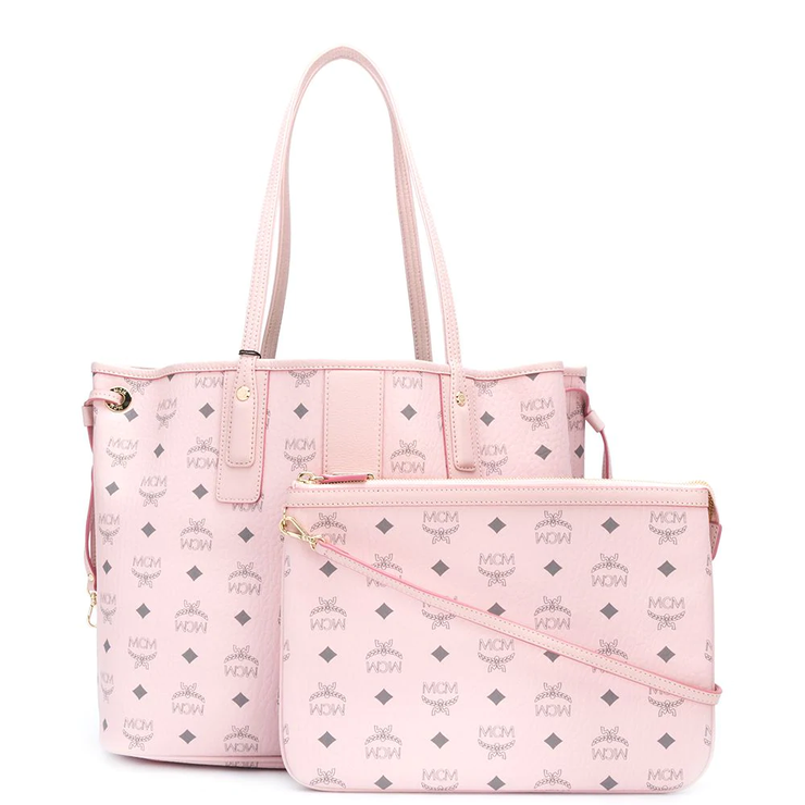 Reversible Liz Shopper In Visetos 'Pink'