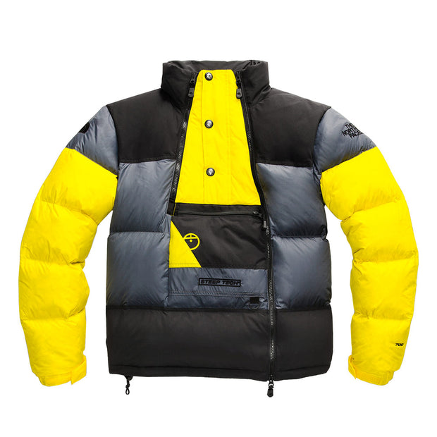 Steep Tech Down Jacket 'Grey / Yellow / Black'