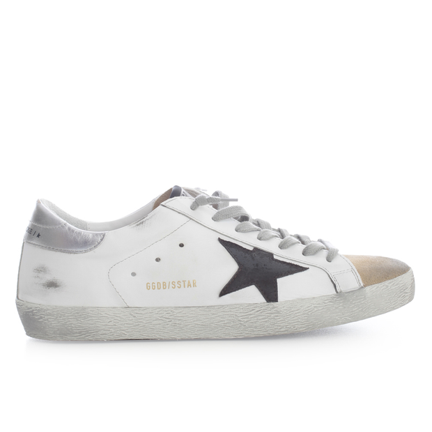 Superstar Leather Upper Suede Star Laminated Heel 'White / Silver'
