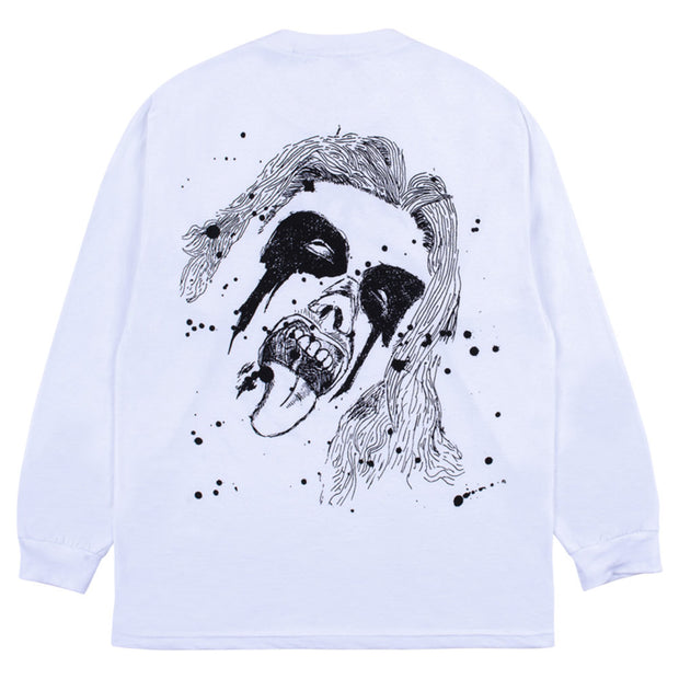 God Bless Long Sleeve T-Shirt 'White'
