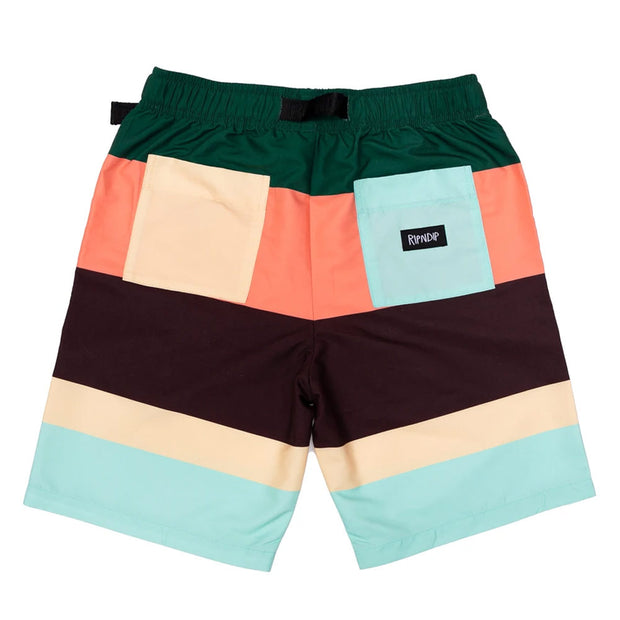 Chromatic Belt Shorts 'Multi'