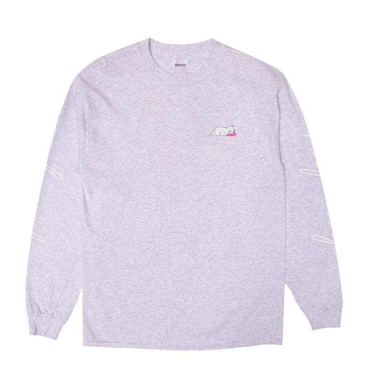 Ladies Man L/S 'Heather Grey'