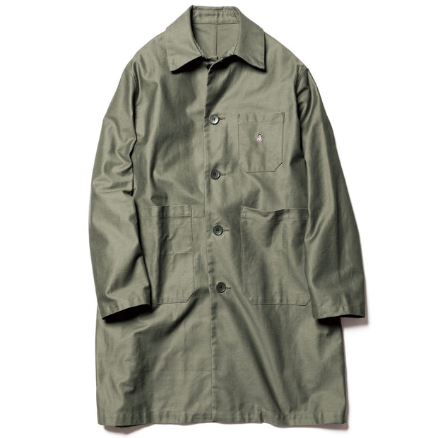Washed Worker Coat 'Khaki'