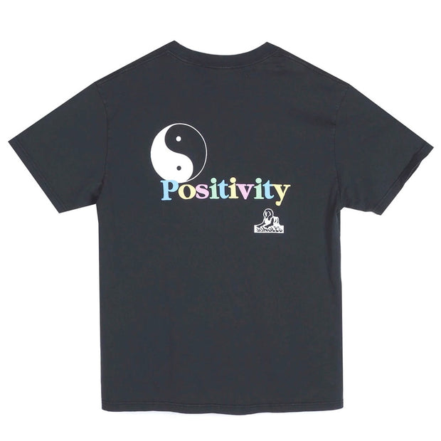 Addicted To Positivity Tee 'Black'