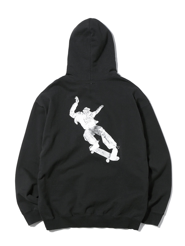 Skateboarding Hooded Sweatshirt