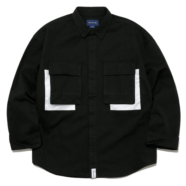 Jungle Shirt Jacket 'Black'