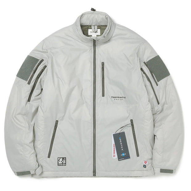 Insulated PCU Jacket 'Grey'